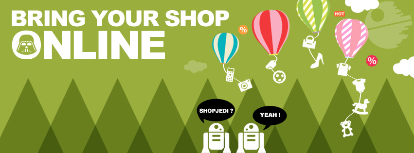 E-commerce sharing – Bring your shop online!
